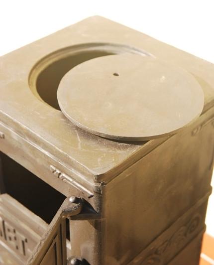 Печь буржуйка чугунная Каспер Met-Spos 6,5 кВт - фото 3