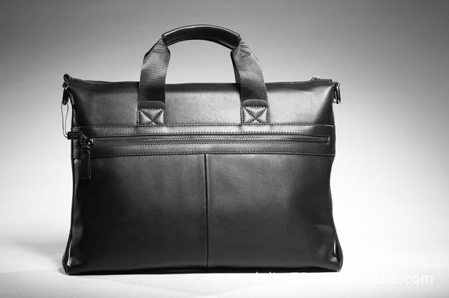 Стильная Мужская кожаная сумка-портфель ПОЛО. Высокое качество. Портфель для мужчин. КожаPU  Код: КСЕ148 - фото 6