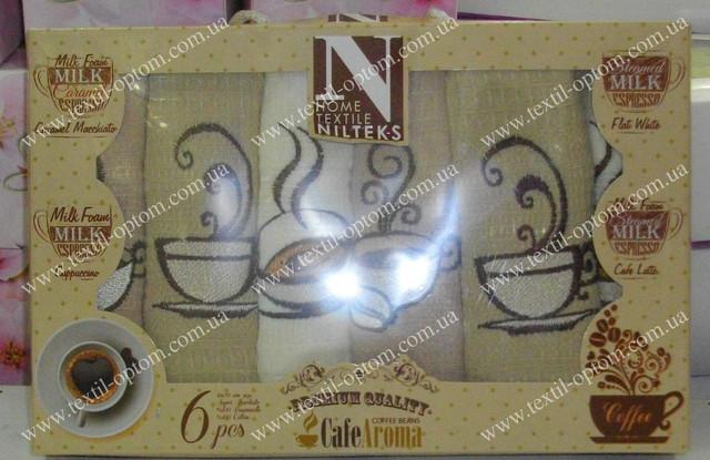 полотенца с изображением кофе