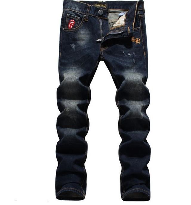 Суперцена! Джинсы СHROME HEARTS. Оригинал USA. Высокое качество. Удобные джинсы. Интернет магазин. Код: КДН992 - фото 1