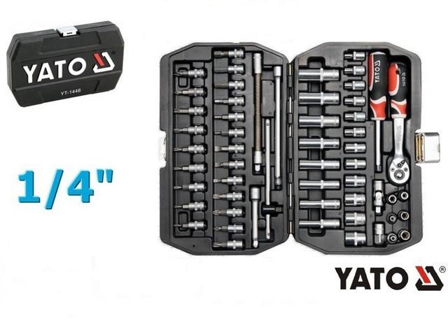 Набор инструмента YATO 56 предметов YT-1450 - фото 1