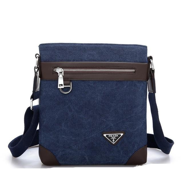 Мужская сумка Prada. Оригинал. Современный дизайн. Новое поступление. Отличное качество. Код: КС52-1 - фото 2