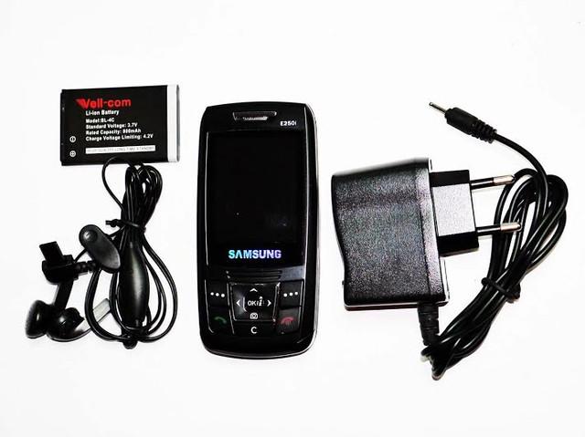 Недорогой мобильный телефон Samsung E250i. Дешевый слайдер. Качественный мобильный телефон. Код: КТМ215 - фото 4