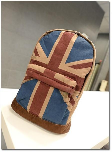 Модный рюкзак. Повседневный  рюкзак. Рюкзаки унисекс. Флаг сша и великобритании . Современный. Код: КРСК2 - фото 5