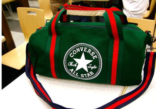 Городская сумка Converse. Спортивная сумка. Дорожная сумка. Мужская сумка. Женская сумка. Холст Код: КСС2 - фото 13