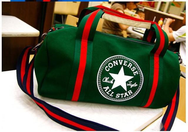 Городская сумка Converse. Спортивная сумка. Дорожная сумка. Мужская сумка. Женская сумка. Холст Код: КСС2 - фото 17