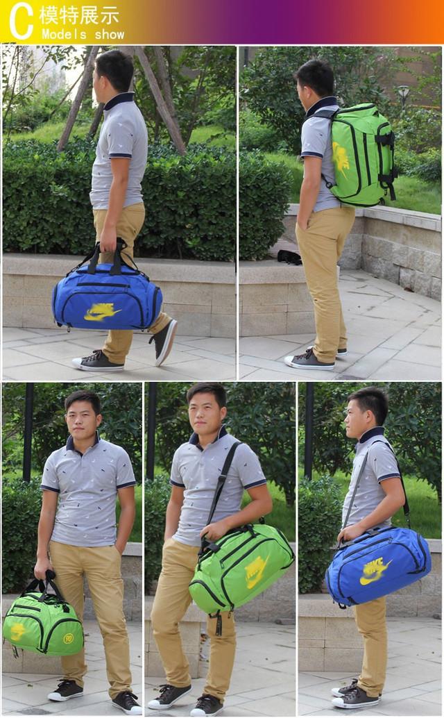 Спортивная сумка Nike. Сумка рюкзак. Качество. Сумки для спорта. Сумки для города. Унисекс. Код: КСС7-2 - фото 1