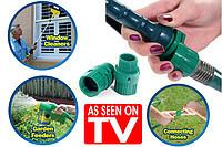 Универсальный соединитель для шланга Snap 2-0 Garden Hose Connector - фото 1