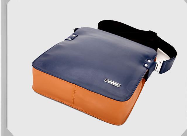 Мужская кожаная сумка. Отличное качество. Сумки из кожи. Кожаная сумка для мужчин. Стиль. Код: КС25-1 - фото 1