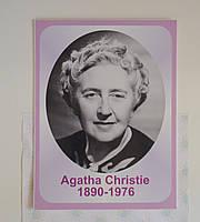 Портреты английских поэтов и писателей Агата Кристи 25х33 см