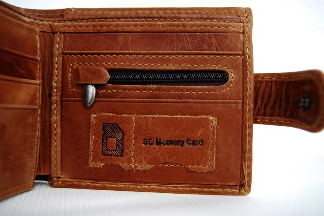 """Мужской кожаный кошелек, портмоне, бумажник KAVI""""S. Кошелек на подарок. Подарок для мужчин. НАТУРАЛЬНАЯ КОЖА! - фото 4"""