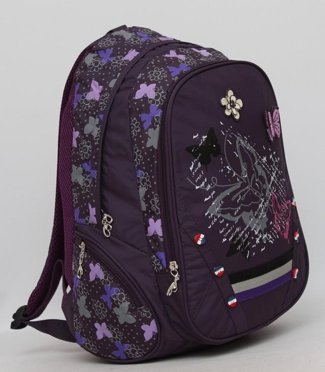 Небольшой детский рюкзак. Качественный рюкзак. Ортопедическая спинка. Купить в интернете рюкзак. Код: КДН470 - фото 2