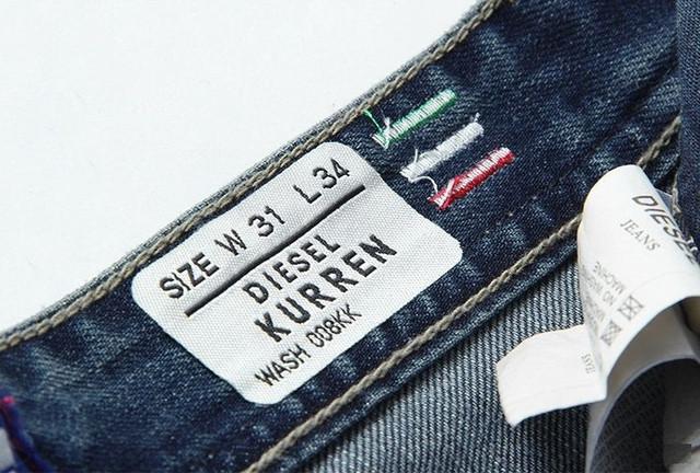 Стильные и модные джинсы Diesel Adidas. Качественные джинсы. Мужские джинсы. Купить в интернете. Код: КДН990 - фото 10