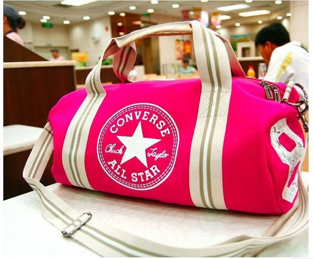 Городская сумка Converse. Спортивная сумка. Дорожная сумка. Мужская сумка. Женская сумка. Холст Код: КСС2 - фото 20