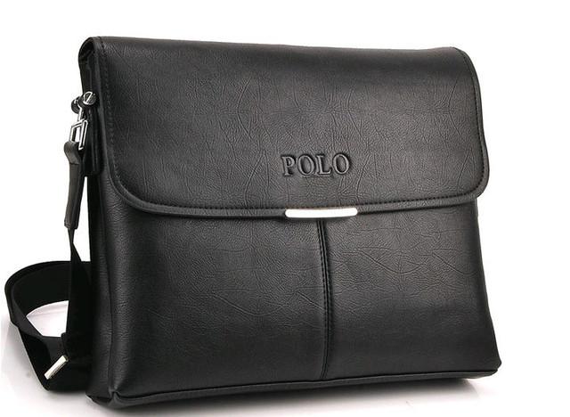 Мужская сумка портфель ПОЛО А4. Сумки для мужчин. Модные сумки. Офисные сумки. Код: КСЕ63 - фото 8