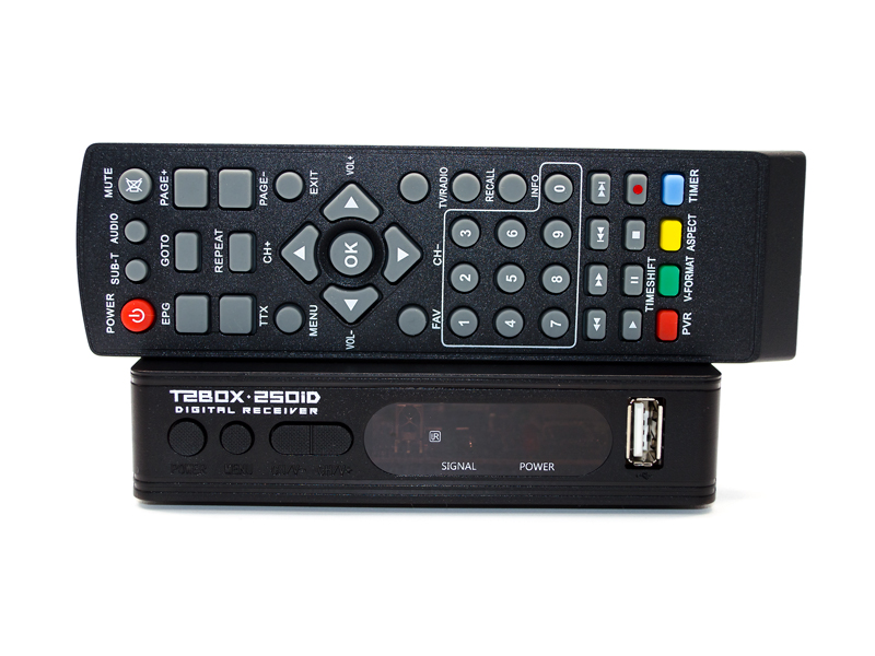Цифровой тюнер Т2 T2BOX 250iD Internet - фото 1