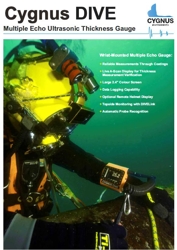 Ультразвуковой подводный толщиномер Cygnus DIVE - фото dive3.jpg