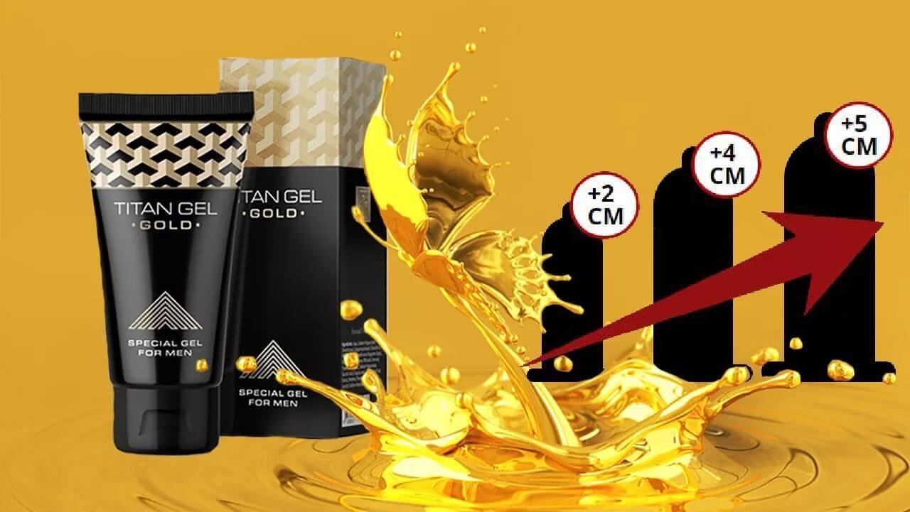 Titan Gold Gel (Титан Голд Гель) – крем от импотенции и для увеличения полового члена.