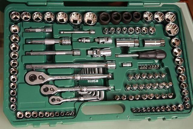 Наборы инструментов - фото Ключи