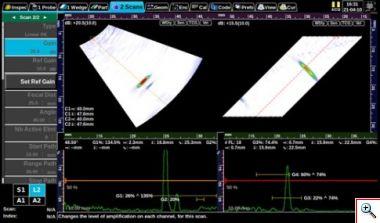 Ультразвуковой дефектоскоп SONATEST VEO - фото veo_2_scans.jpg