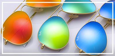 Ray-Ban-Sunglasses-Aviator-Flash-Lenses?