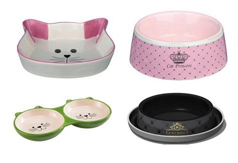 Миски для животных - фото Миска для кошки - как выбрать правильную миску для кошки?