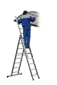 """Универсальная алюминиевая лестница HOBBY """"VHR H"""""""