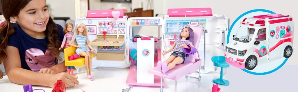Мобільна клініка Barbie Mattel (FRM19) - фото cea6-1062-405c-a0bb-343a43bc89c3_large.jpg