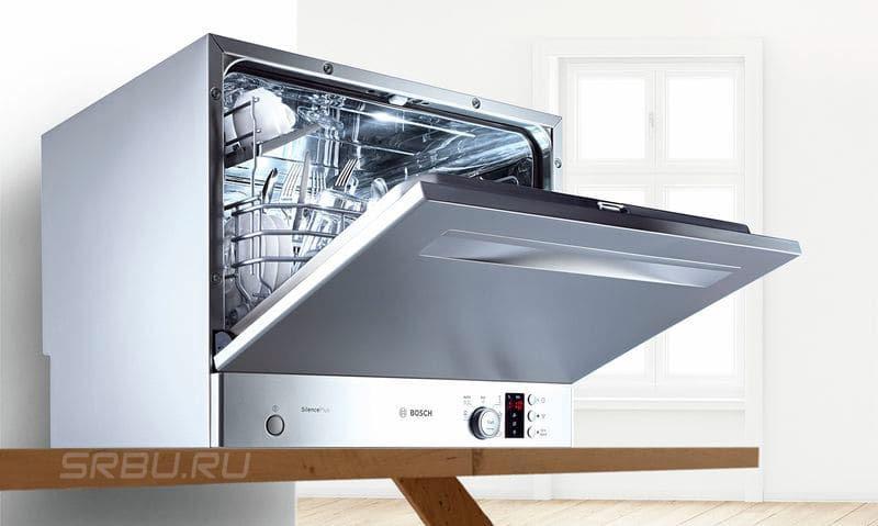 Посудомоечные машины - фото Компактная посудомойка