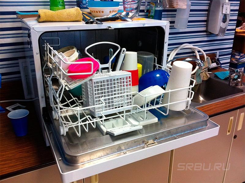 Посудомоечные машины - фото Настольная посудомоечная машина