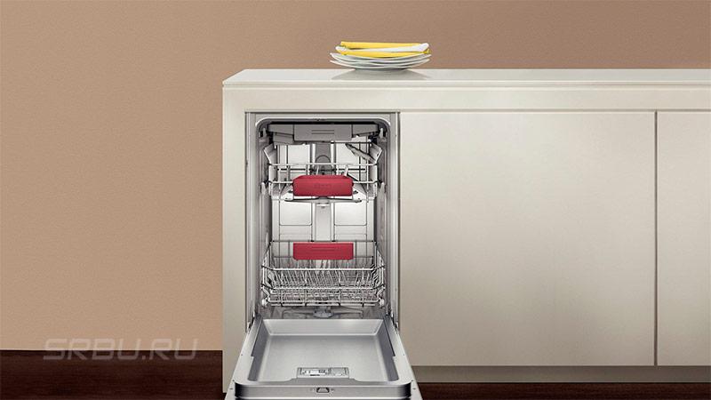 Посудомоечные машины - фото Узкая посудомойка