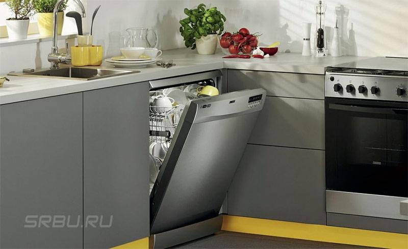 Посудомоечные машины - фото Блокировка дверцы