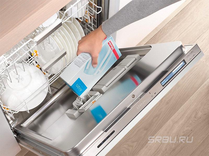 Посудомоечные машины - фото Регенерирующая соль для посудомоечной машины