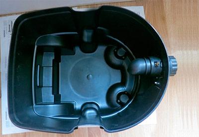 Профессиональные пылесосы - фото Контейнер для пыли