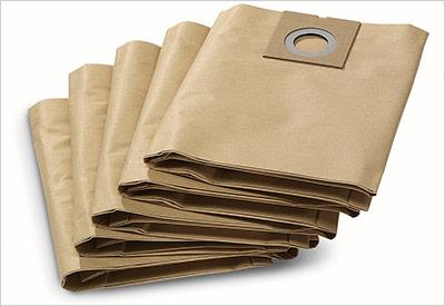 Профессиональные пылесосы - фото Бумажные мешки