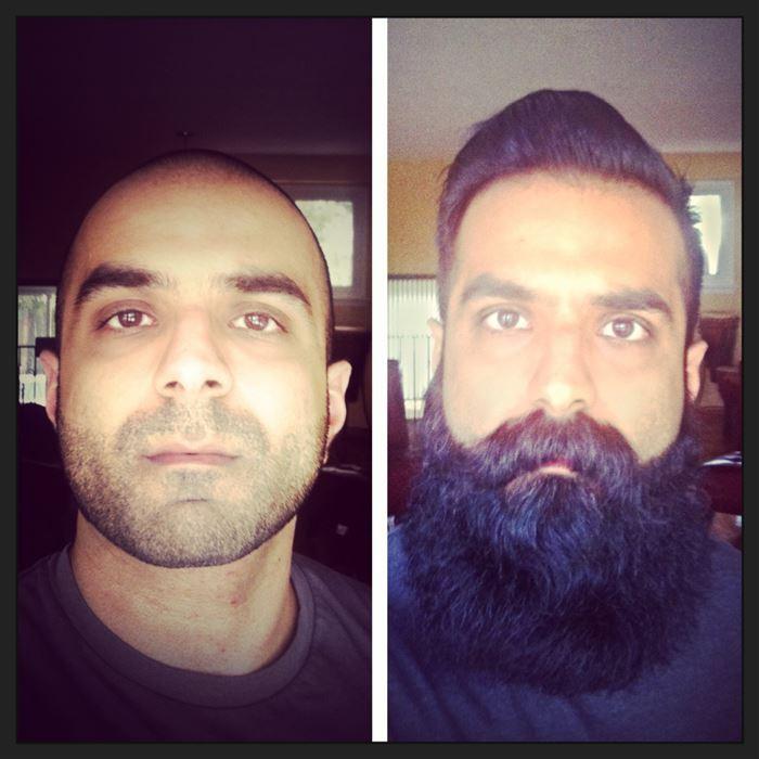 Чувак теперь живет в лампе, зато может исполнять желания борода, мужчины