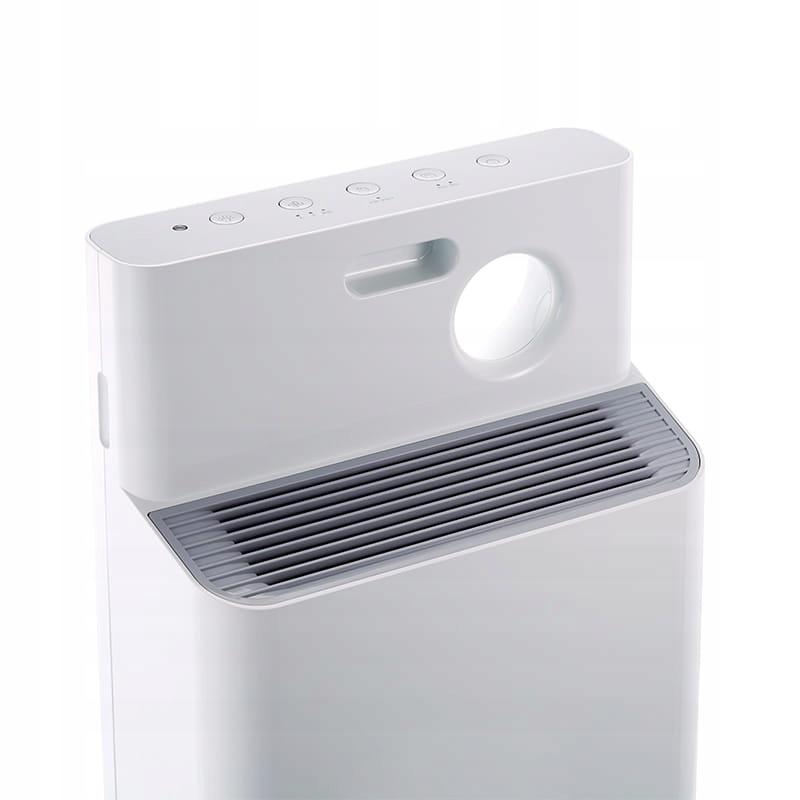 Coway Classic, сучасний очищувач повітря, домінуючим кольором є білий