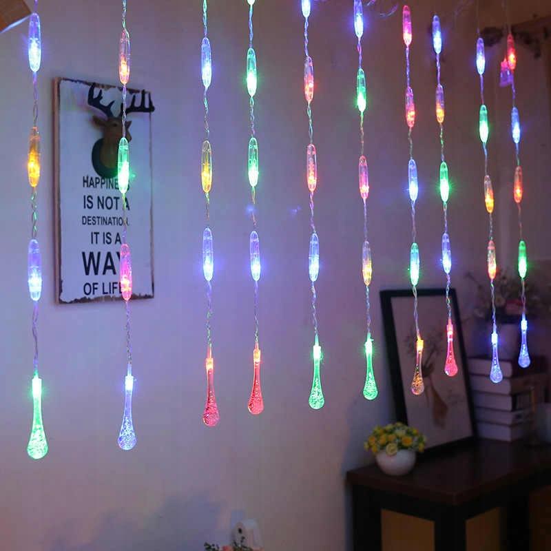 ЗАВІСНІ ЯЛИННІ ЯЛИНИ-ЛАМПИ Підвісні світлодіодні краплі Кількість ламп 51 - 100