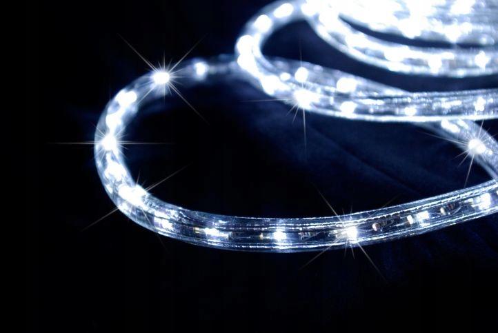 Світлодіодний шланг зовнішній 20 м ОХОЛОДНІ БІЛІ ЛАМПИ Кількість ламп 301 - 500
