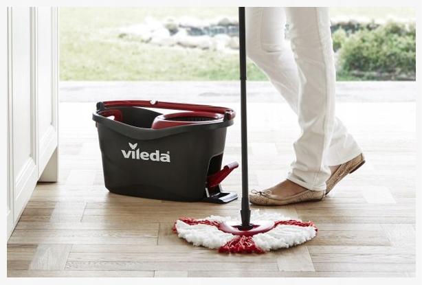 Набір для прибирання Vileda Mop Easy Wring and Clean Turbo - фото 1