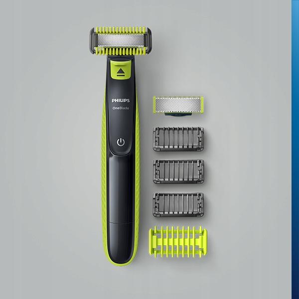 Бритва Philips OneBlade Face + Body QP2620 / 20 Час бездротової роботи 45 хв