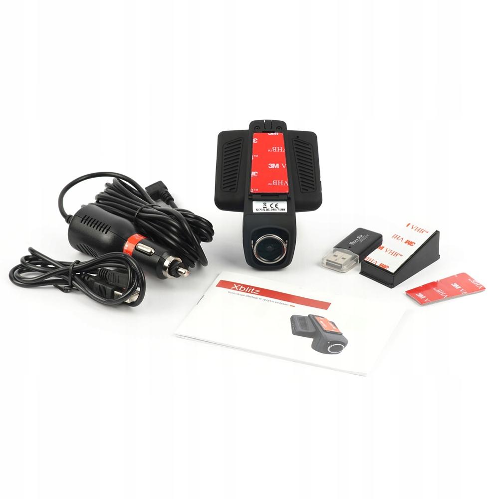 Автомобільний відеореєстратор Xblitz X5 WIFI - фото data-src=