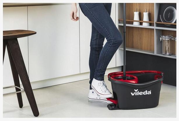 Набір для прибирання Vileda Mop Easy Wring and Clean Turbo - фото 2