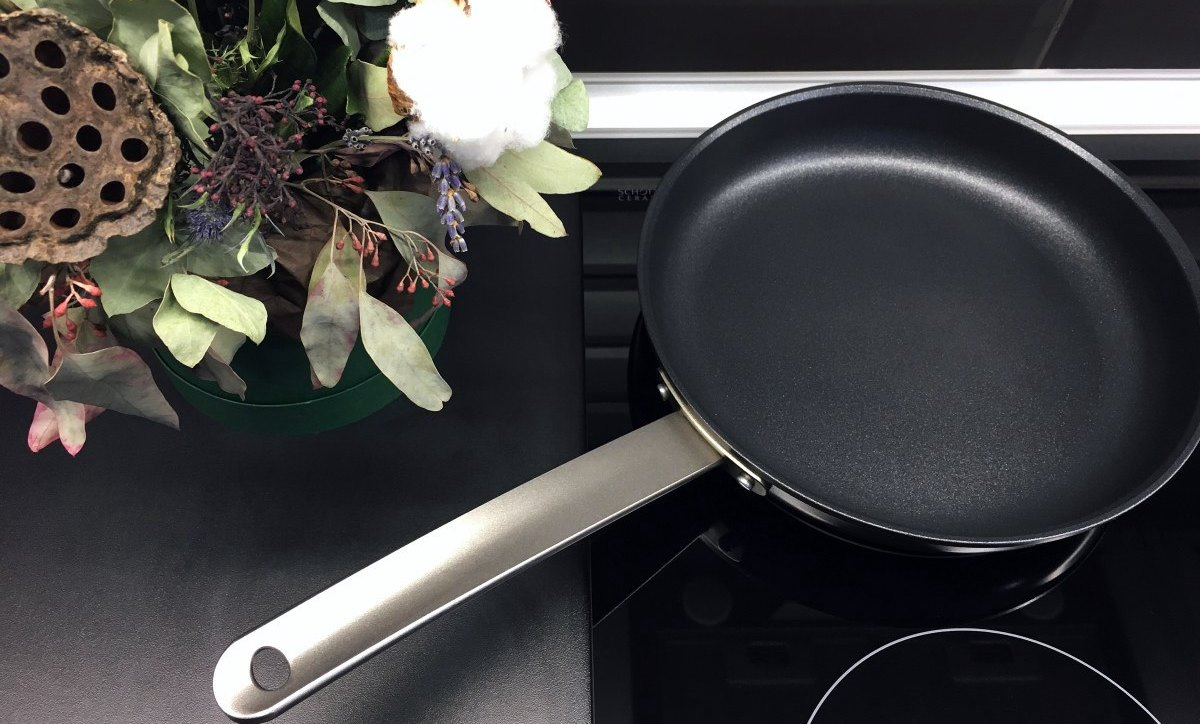 Сковороды с покрытием гранит - фото Фото тефлоновой сковороды