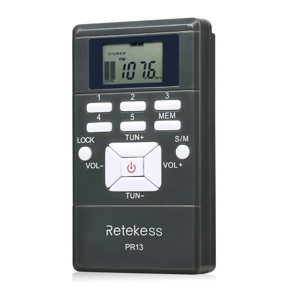 Портативный стерео мини радиоприемник PR13-R с дисплеем, часы, наушники, питание 2хААА - фото HTB19lHbKgaTBuNjSszfq6xgfpXa1.jpg