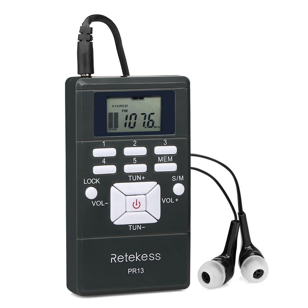 Портативный стерео мини радиоприемник PR13-R с дисплеем, часы, наушники, питание 2хААА - фото HTB1r8PbKgaTBuNjSszfq6xgfpXaE.jpg