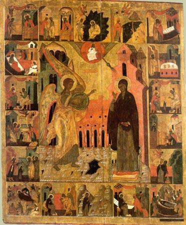 Иконы Благовещения Божией Матери - Московской (XVI) и Киевской - фото 07-04.jpg