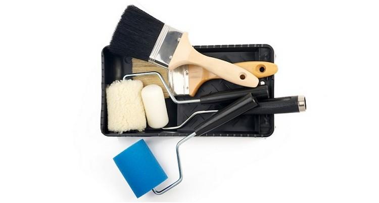 Малярный инструмент - фото О выборе кистей и валиков