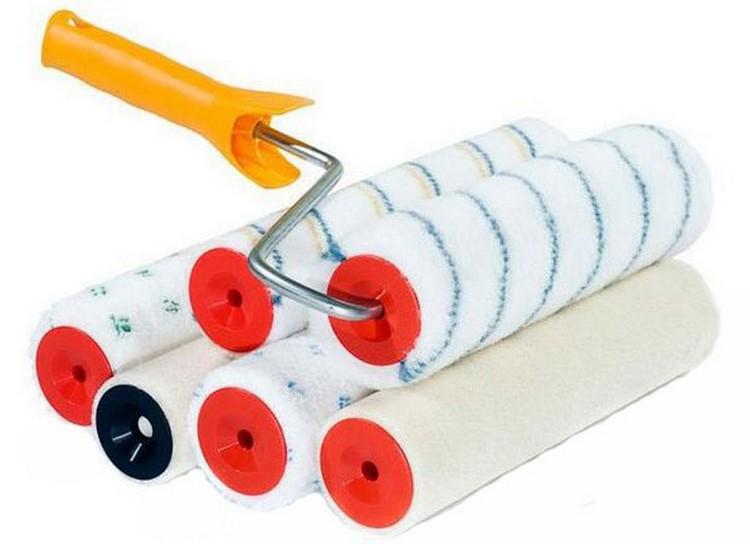 Малярный инструмент - фото Как выбрать валик