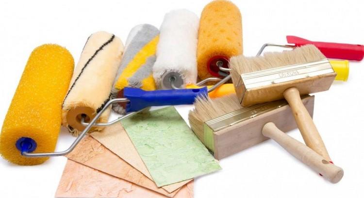 Малярный инструмент - фото Выбор кистей и валиков
